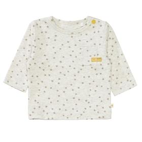 ORGANIC COTTON Langarmshirt mit Allover-Print