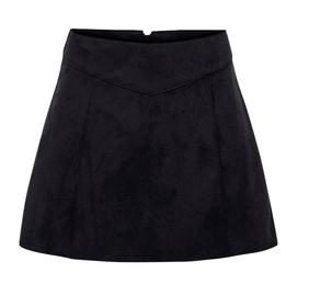 """Rock """"Onllinus Faux Suede Bonded Skirt CC"""""""