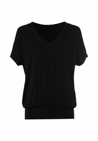 Shirt Oversized V-Ausschnitt