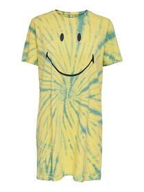 Kleid mit Smiley-Print