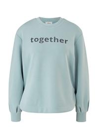 Sweatshirt mit Schriftprint