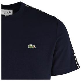 Rundhals-Shirt aus Baumwolle