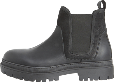 Leather Mix Chelsea Boot