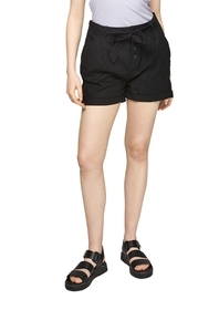 Leinenmix-Shorts