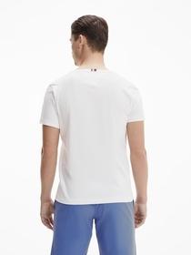 T-Shirt mit Palmen-Logo