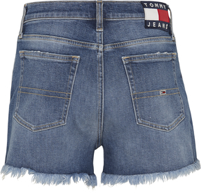 Relaxed Jeans-Shorts mit Tommy-Badge
