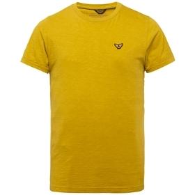 Short sleeve r-neck slub jersey