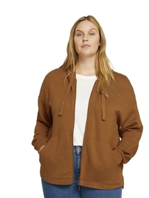 sweatjacket with hood