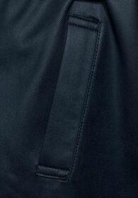 Trench Coat in Fake Velours