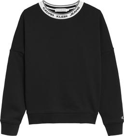 Sweatshirt mit Logo-Kragen