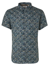Shirt Short Sleeve All Over Printed Stretch