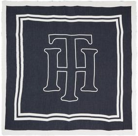 Halstuch mit elegantem Monogramm