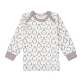 """Baby Langarmshirt mit Pinguin """"Timber"""""""