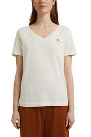 T-Shirt mit Noppen-Struktur, Organic Cotton