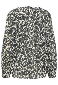 Tunika-Bluse aus Organic-Cotton-Voile-Qualität