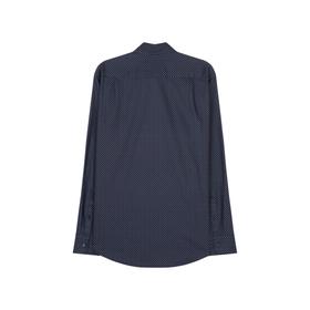 Twill Casual Hemd in Regular mit Button-Down-Kragen