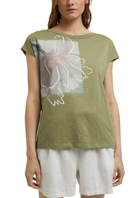 T-Shirt mit Print aus Organic Cotton