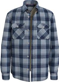 Sherpa Melange Check Shirt L/S