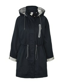 parka with silver details