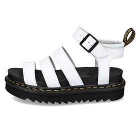 Blaire White Hydro Leather