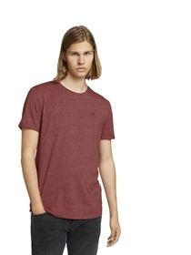 Strukturiertes T-Shirt