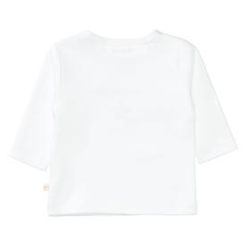 ORGANIC COTTON Langarmshirt mit Wording
