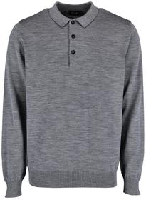 Superwash Pullover mit Polokragen