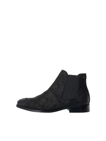 JFWPETER WAXED SUEDE ANTHRACITE NOOS