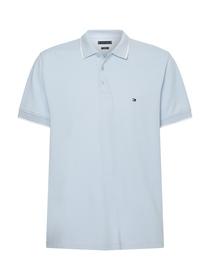 Poloshirt mit Kontrast-Besatz