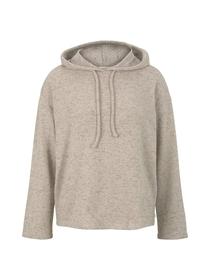 relaxed hooded longsleeve