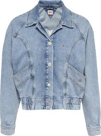 Cropped Fit Jeans-Cargojacke mit Rückenlogo