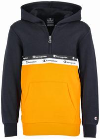 Half-Zip Kapuzen-Sweatshirt