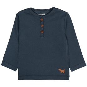 Langarmshirt im Ripp-Design