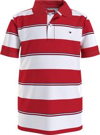 Poloshirt mit verschiedenen Streifen