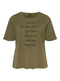 "T-Shirt ""Vmjosephine"" mit Frontprint"