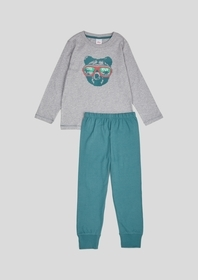 Zweiteiliger Schlafanzug mit Motivprint