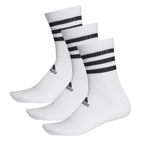 """3-Streifen Socken """"Cushioned Crew"""" (3 Paar)"""