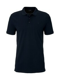 polo with chest artwork