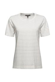 Basic-T-Shirt mit feinen Streifen