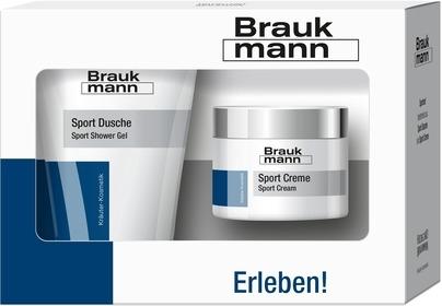 BraukMANN Pflegeset Sport Creme & Dusche