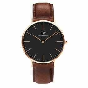 """Uhr """"Classic Black Bristol DW00100125"""""""