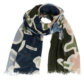 Schal aus weichem Baumwoll-Modal Mix