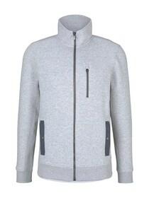 structured sweatjacket