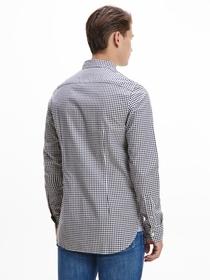 Slim Natural Soft Gingham Shirt