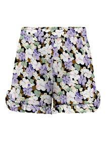 Shorts mit Blumenprint