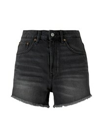 Mom fit shorts with destroys