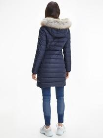 Jacke 'TJW Essential Hooded Down Coat'