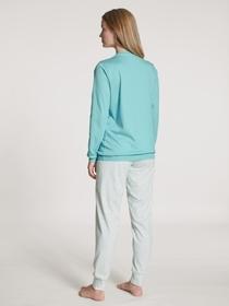 DAMEN Pyjama mit B#ndchen