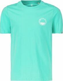T-Shirt mit Print im Brustbereich