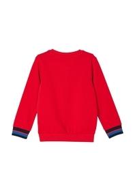 Sweatshirt mit Streifen-Detail